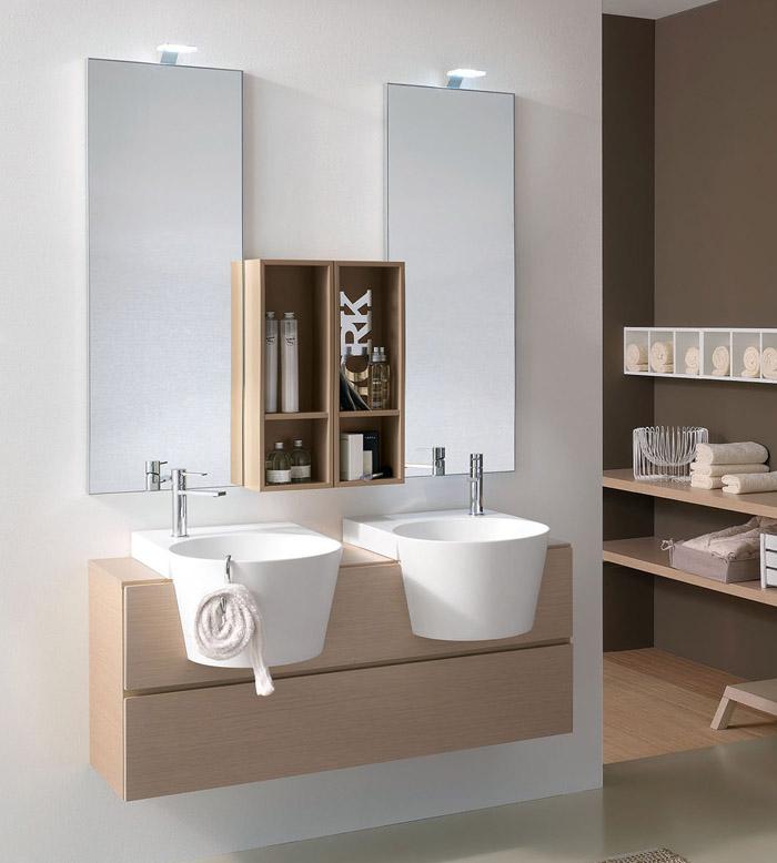 Mobile bagno Canestro